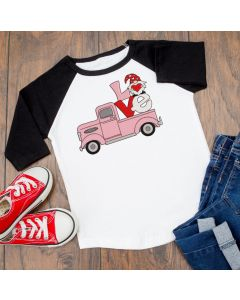 Gnome Love Truck Embroidery Design