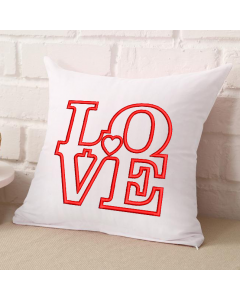 Love with Heart Applique