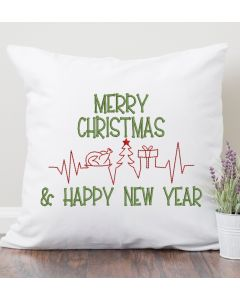 Merry Christmas and Happy Newest Embroidery Design