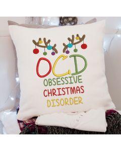 OCD Reindeer 2020 Embroidery Design