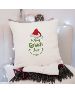 Resting Grinch Face 2020 Embroidery Design