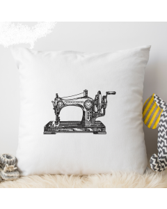 Sewing Machine Sketch Embroidery Design