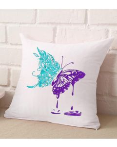The Painted Butterfly Embroidery Design