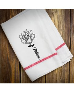 Patience Flower Sketch Embroidery Design