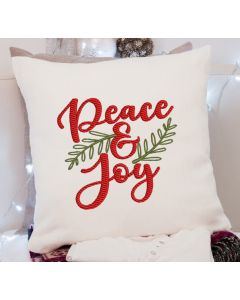 Peace and Joy 2.0 embroidery Design