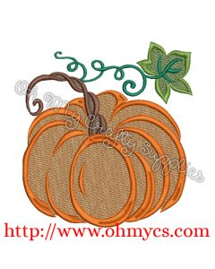 Another Pumpkin 4U Embroidery Design