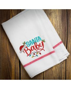 Santa Baby 2020 Embroidery Design