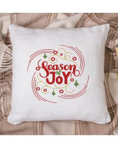 Season of Joy 2020 Embroidery Design