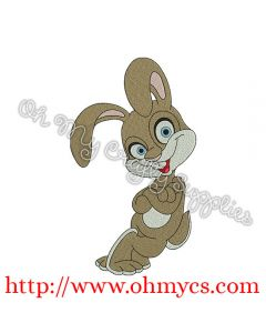 Silly Rabbit Embroidery Design
