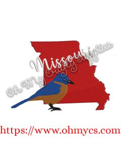 Missouri State Embroidery Design