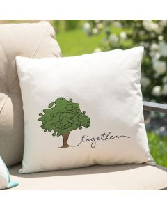 Together Tree Embroidery Design