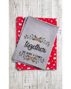 Together we make a Embroidery Design