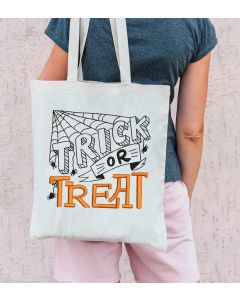 Trick or Treat 2020 Embroidery Design