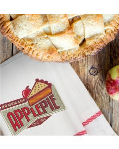 Vintage Apple Pie Embroidery Design
