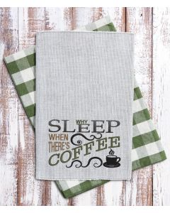 Why Sleep when Coffee 2020 Embroidery Design