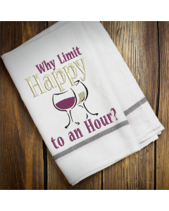 Why Limit Happy Embroidery Design