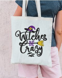 Witches be Crazy 2020 Embroidery Design